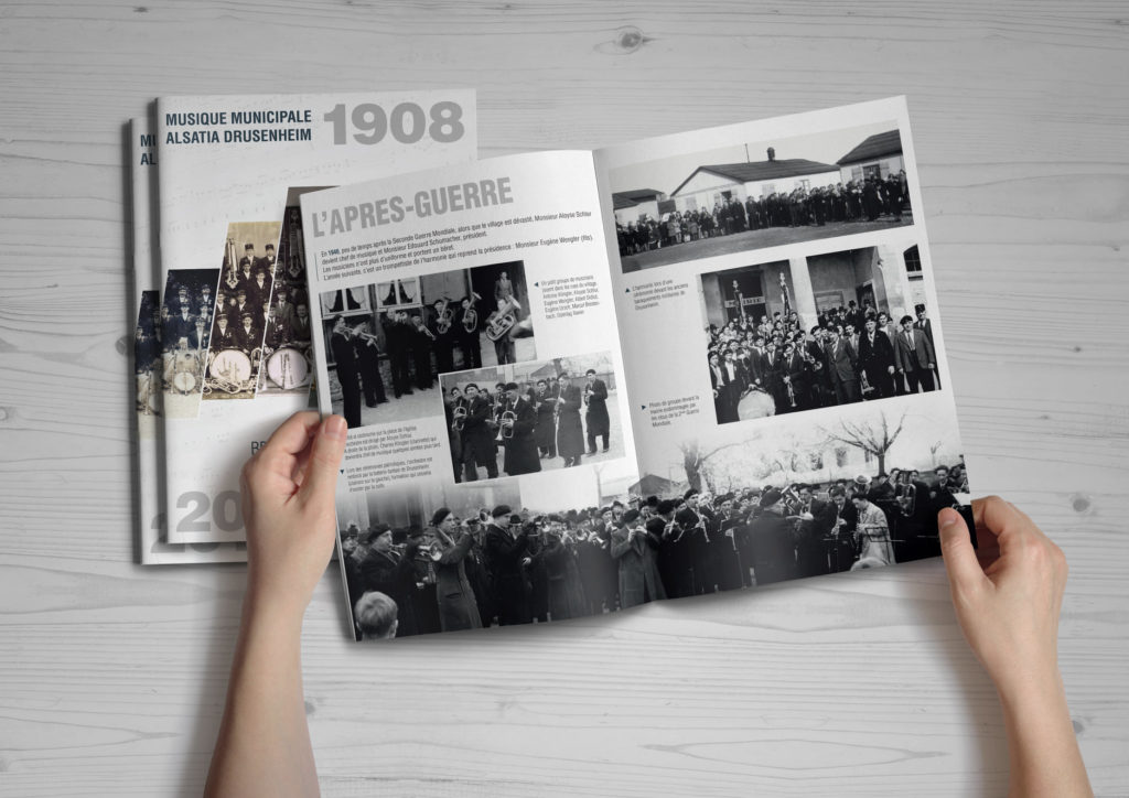 110 Ans de Passion, historique de la Musique Municipale Alsatia de Drusenheim