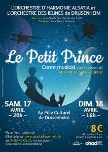 Conte musical concert Petit Prince Drusenheim
